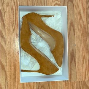 Lightly worn suede Manolos :)